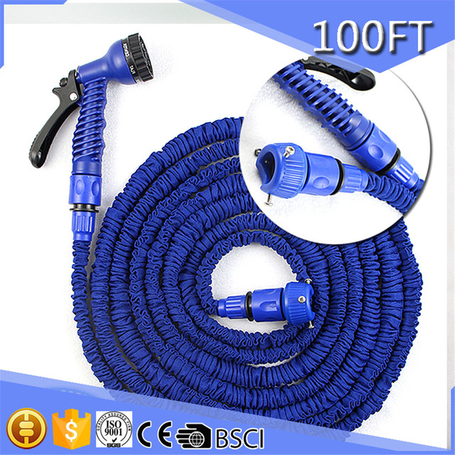 100ft Expanding Hose Strongest Expandable Garden Hose Shrinking Pipe For Watering 3/4 Inch  sc 1 st  AliExpress.com & 100ft Expanding Hose Strongest Expandable Garden Hose Shrinking ...