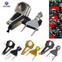 Motorcycle CNC Aluminium Steering Stabilizer Damper Mounting Bracket For Honda CBR600F4i 2001 2002 2003 2004 2005 2006 2007