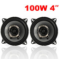 High Quality 2Pcs 4Inch 10cm Dual-Cone Car Coaxial Speakers Tweeter 200W