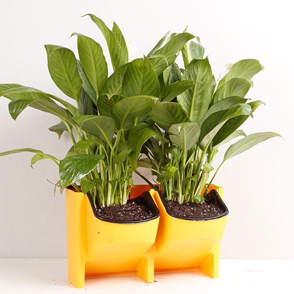 selbst bewässerung blumentopf stapelbar vertikale pflanzer wand