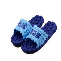 Household Pebbles Acupoints Foot Massage Foot Massage Slippers Shoe Lovers Bathroom Anti Skid Summer Cool Indoor