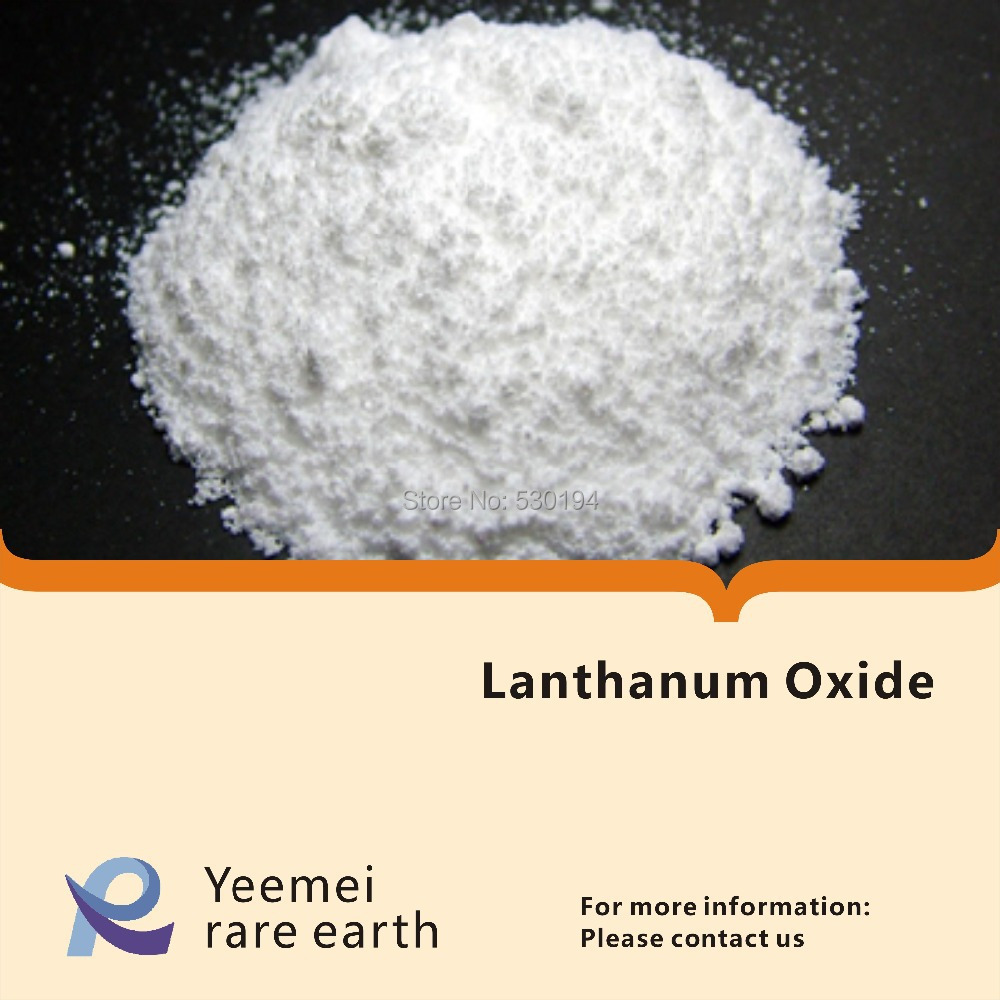 Lanthanum Oxide - 99.99% - La2O3 rare earth metal oxide zinc oxide and manganese doped zinc oxide nanoparticles