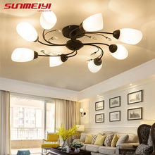 купить Modern LED Ceiling Lights Home Lighting Living room lampy sufitowe Light Fixtures luminaria de teto Bedroom Ceiling Lamp по цене 4511.64 рублей