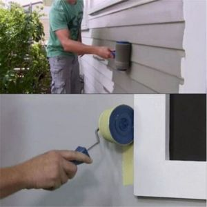Image 5 - New Hot Multi function DIY Paint Brush Roller Brush Handle Tool Household Corner Brush Home Office Room Wall Multifunctional P