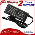 19 В 3.42A 5.5*2.5 мм 65 Вт AC Адаптер Питания Для Toshiba Satellite P300 L450 M800 L670D C660 L650 L700 A300 A500 C850 L655 зарядное устройство
