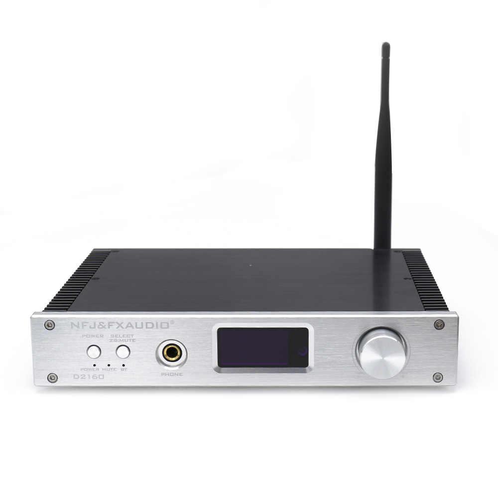 FX-Audio D2160 HIFI Bluetooth 4,2 150 Вт * 2 полный цифровой усилитель мощности CSR64215 + TAS5548 + AK4418 + CM6642 + MAX9722