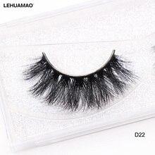 1405128a3e2 LEHUAMAO 3D Mink Lashes Natural Volume Handmade False Eyelashes Full Strip  Lashes