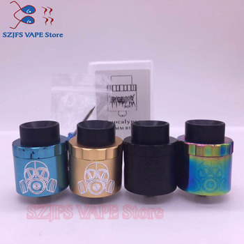 цена на Apocalypse GEN 2 RDA atomizer RDA 24mm 25mm rebuildable tank with squonk BF pin for 510 electronic cigarette box Mod