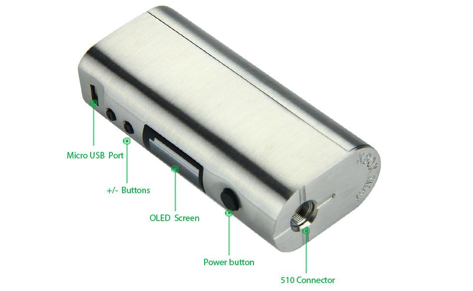 75W Kangertech KBOX Mini TC MOD WO Battery  2