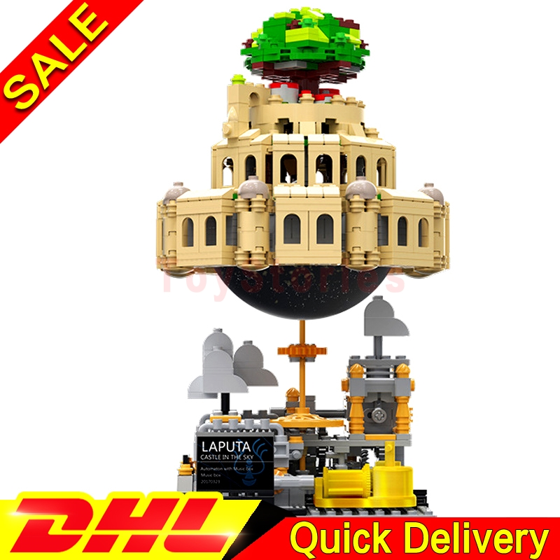 XingBao 05001 Genuine Creative MOC Series City in The Sky Children Building Blocks Bricks legoings Toys Model Gift Clone Lepin lepin 21003 series city car beetle model building blocks blue technic children lepins toys gift clone 10252