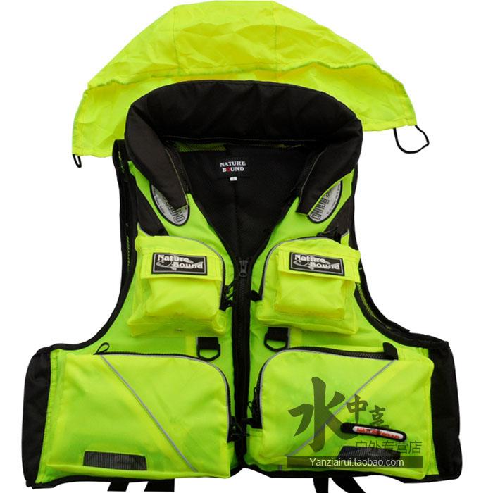 Стиль Топ quanlty спасательный жилет, рыболовная одежда жилет для рыбалки/спасательный жилет для морской рыбалки - Цвет: Зеленый