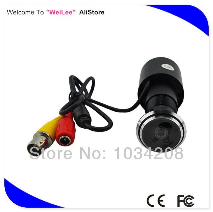 700TVL SONY Effio-E 4140+811\810 Small 175 Degree Wide Angle Access Control Eye Door Camera CCTV Security Camera For 960H DVR