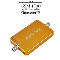 One Year Guarantee 65dB Gain Orange AWS 1700 Cell Phone Signal Booster UMTS 1700 Mini Mobile Signal Repeater For Home