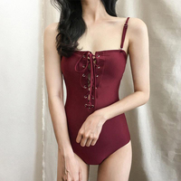 2018 One Piece Suits Swimsuit Sexy Strap Women Swimsuit Lady Classic Swimwear Bodysuit Beach Bathing Suit