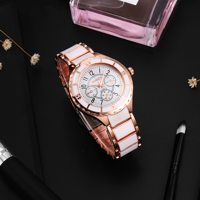 2018 Fashion Women Watches Personality Romantic Rose Gold Wrist Watch Stainless Steel Ladies Clock montre femme reloj mujer 3