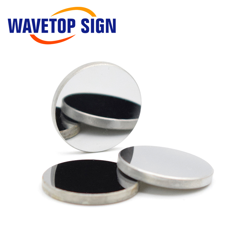 Image 2 - WaveTopSign Focus Lens Dia.12mm Focal Length 50.8mm 1Pcs + MO Mirrors 20x3mm 3PCS for 3020 K40 Co2 Laser Stamp Engraving Machine-in Lenses from Tools