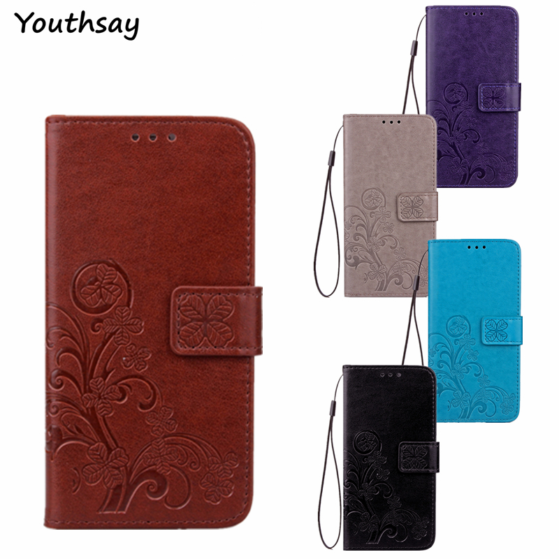 For <font><b>Alcatel</b></font> <font><b>Idol</b></font> <font><b>4</b></font> <font><b>Case</b></font> <font><b>Flip</b></font> Leather Wallet Phone <font><b>Case</b></font> For <font><b>Alcatel</b></font> <font><b>Idol</b></font> <font><b>4</b></font> <font><b>6055K</b></font> 6055 Back Cover For <font><b>Alcatel</b></font> Idol4 Coque Fundas image