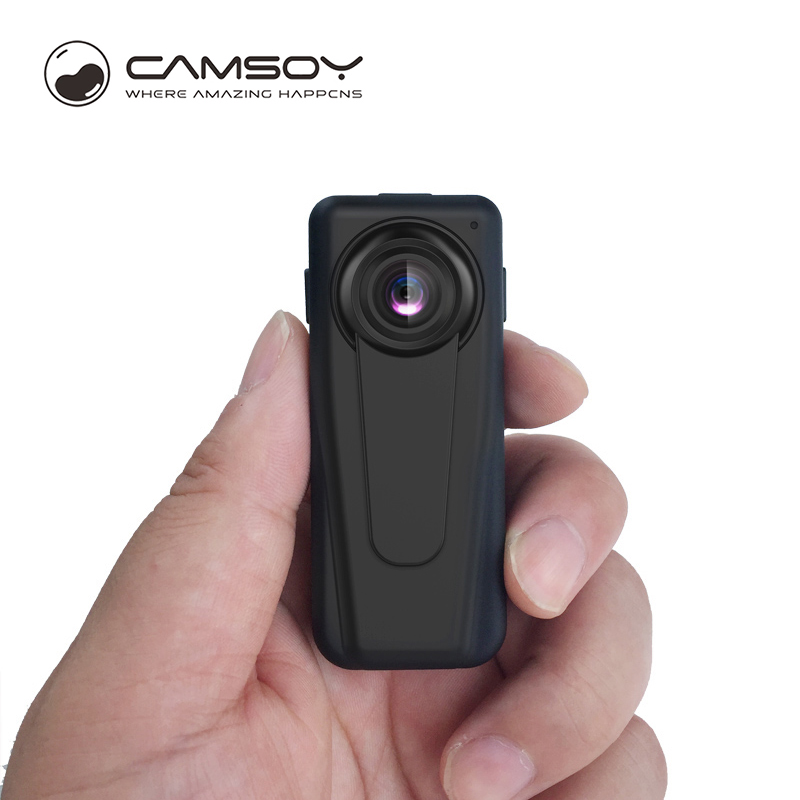 T10 Camera Bewakingsrecorder DVR Body Pocket HD 1080P Mini Camera Bewegingsdetectie Video Camcorder met 850 mAh batterij