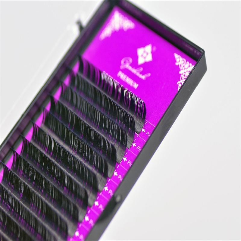 0 05 JBCD Curl 4 Pcs lot 3D Volume Eyelash Extension New Products Hot Selling Promotion Price in False Eyelashes from Beauty Health
