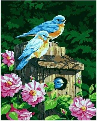 Φ_Φ40 50 pintado a mano digital óleo DIY pinturas sobre lienzo arte ...