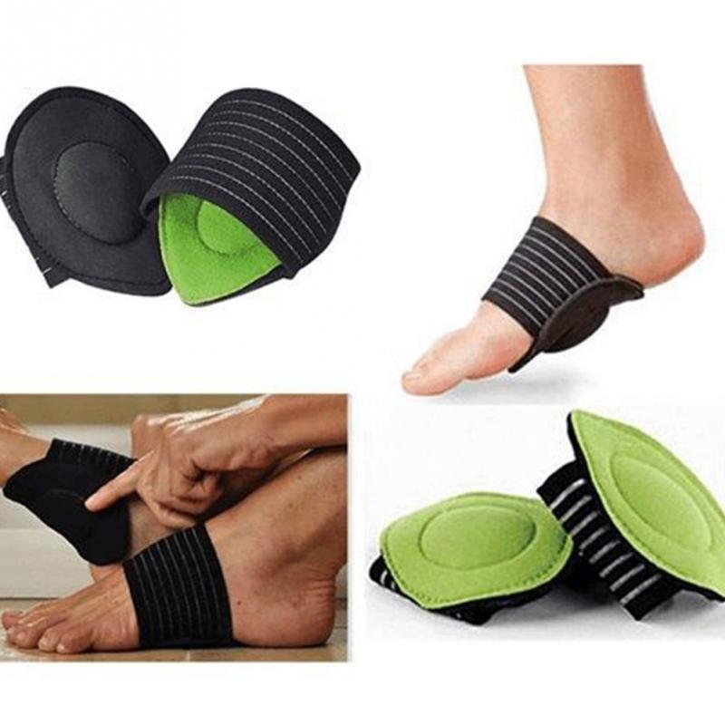 eff4bcb5e0 MOONBIFFY Foot Insoles Arch Support Plantar Fasciitis Heel Aid Feet Cushion  Fallen Heel Pain Relief Shock Healthy Beauty Poduct