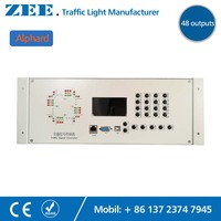 48 OUTPUTS 36 OUTPUTS LED Traffic Controller 220V Electricity Traffic Light Controller RS485 RS232 Connected Lan Network