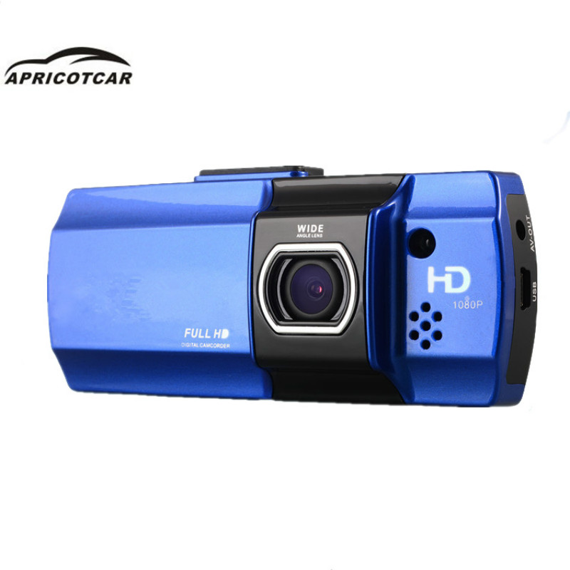 Car DVR Dash-Cam Driving-Recorder Led-Mirror Car-Detector G-Sensor 24h-Monitoring Night-Vision