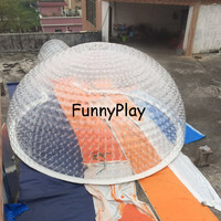 inflatable weedinng camping tent,double layer beach dome tents,inflates tents for advertising event,big inflatable dome tent