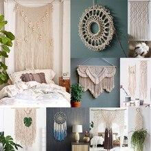 Cabo de algodão branco de 3mm x 200m durável, corda torcida bege natural, artesanato, macrame, faça você mesmo, feito à mão, casa fonte de decoração #10
