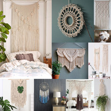 Cordon torsadé en coton blanc de 3mm x 200m, cordelette pour macramé artisanal fait à la main, fournitures de décoration de maison #10