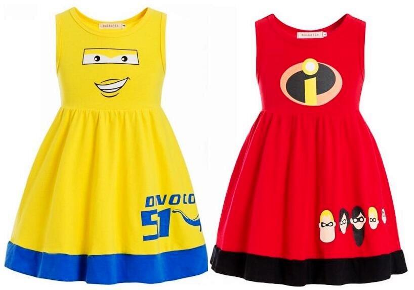 Increíble mono disfraz de superhéroe vestido de disfraz para niño los Incredibles niños vestido de fantasía fiesta Halloween disfraz