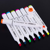 TOUCHNEW Six Generation Genuine Mark Pen Touch New 6 Generation Oil Pens Kit Student Painted 36