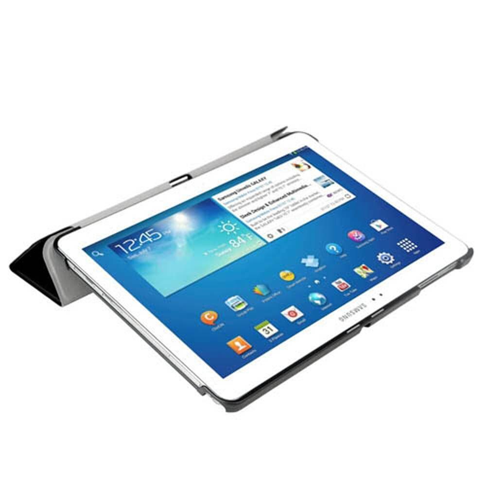 Coque de téléphone Samsung Galaxy Tab Pro 10.1, T525, T521, étui intelligent, support de livre ultra-fin, pour SM P600, P601, P605