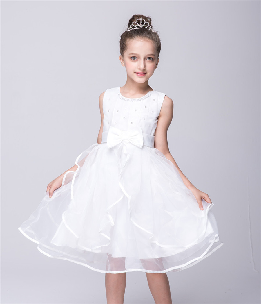 Online Shop lace flower girl dresses tulle purple white rose red kids  princess costumes wedding children clothing fashion party frocks zq60  3f1e2d121dfe
