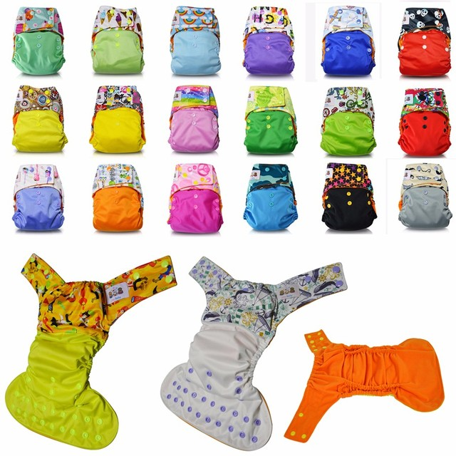 JinoBaby Cloth Diapers Couche Lavable Snaps-One Size-Pirate King (with 2 Inserts)