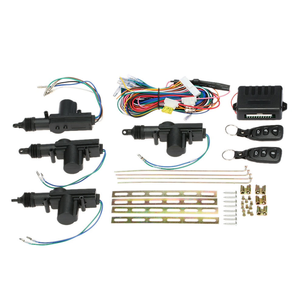 Car Alarm system with Auto starline Door Lock Keyless Entry System Remote Control Central Locking Kit