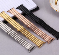 1PCS 316L stainless steel watch straps watchband Link Bracelet strap for iwatch For Apple watch band 42mm 38mm Series 4 colors