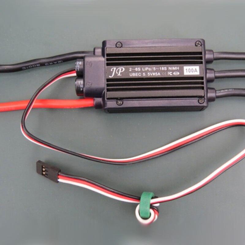 Offre spéciale en métal JP/GP 70mm ventilateur conduit EDF avec 100A ESC Set Jet 12 lame 2 s-6 s Lipo moteur électrique pour modèle d'avion RC - 3