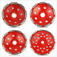 1 Pc Diamond Single Row Cup Wheel 4 4 5 5 7 Size Available Grinding Disc