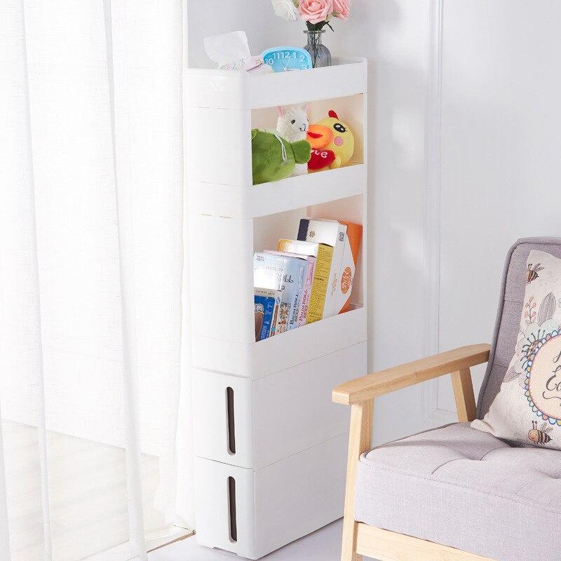 Home küche bad wohnzimmer schublade racks schlitz 17 cm breit schrank weiß ZP01161905 - 4