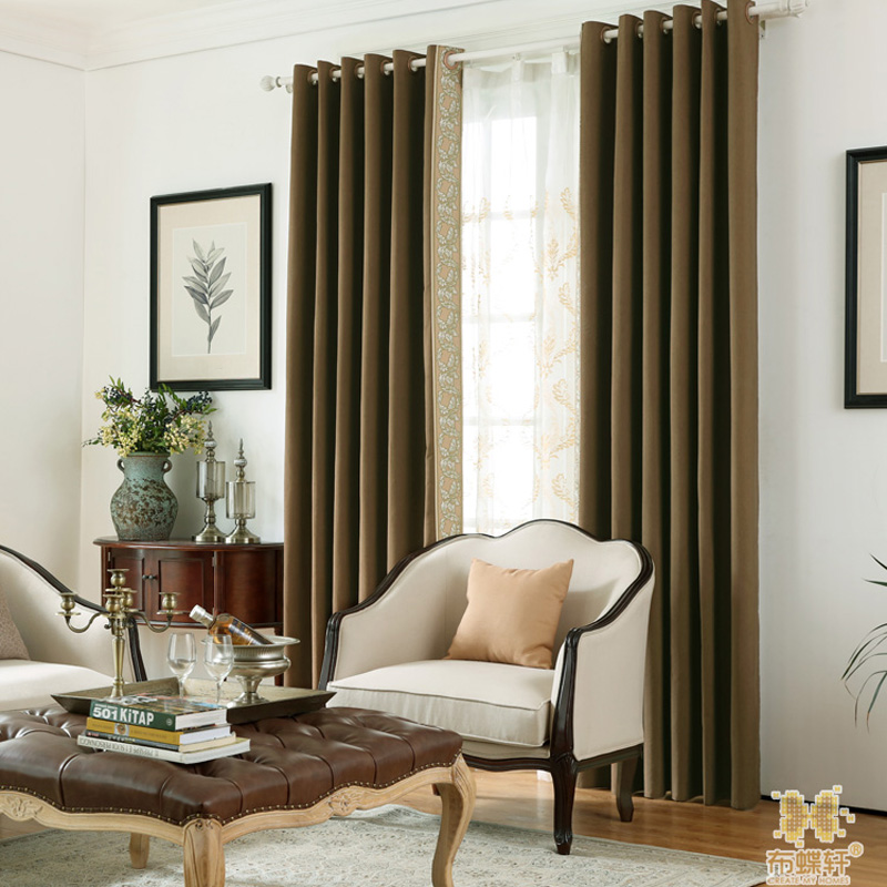 Two Colors Light blocking Noise Reducing Curtain Modern  Style - Home Textile - Photo 2