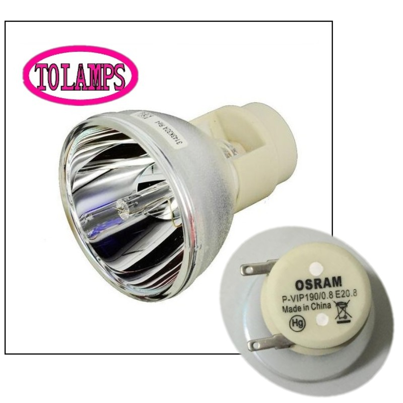 Nouveau Nu Ampoule Lampe Osram P-VIP 190/0. 8 E20.8 Pour Mitsubishi DELL VIEWSONIC ACER OPTOMA ETC