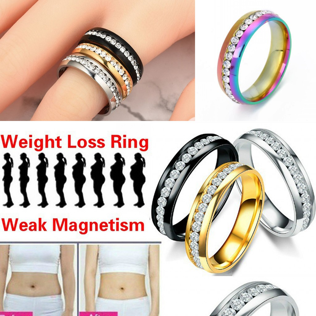 Slimming Magnetic Weight Loss Ring String Stimulating Acupoints Gallstone Ring Fitness Reduce Weight Ring Health Care Rings