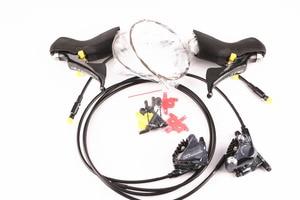 Image 3 - Shimano Kit de construcción de frenos de disco Ultegra R8020, 2x11 velocidades, Kit de construcción, desviadores de bicicleta de carretera R8070