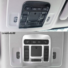 Car Roof Rear Reading Light Cover Trim Lamp Decoration Frame For Toyota Camry 2018 2019 Accessories