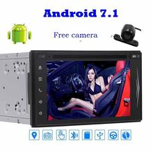 camera Android 7.1 DVD Player gps tracker car styling Stereo Navigator Vehicle GPS Unit Radio Audio Support WiFi/Bluetooth Radio