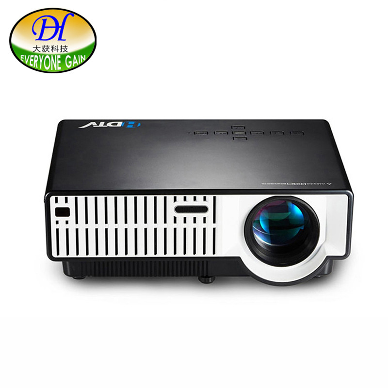 Everyone Gain DH-310 TOP 3500lumens Proyector Full HD 4K LED Video Projector Home Cinema Projeksiyon 1280*800P Projecteur 1080P 3500 lumens home projector entertainment cinema 1024 768pixels updated free hdmi full color office projector game proyector