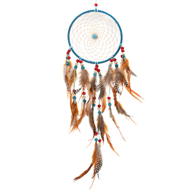 Wave Point Feather Dream Catcher Wall Hanging Home Car Decor Craft Awesome Dream Catcher Point