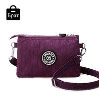 Women Shoulder Bag Clutch Nylon Mini Handbags Solid Crossbody Small Bags For Women Waterproof Casual Flap