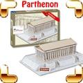 New DIY Gift Athens Parthenon 3D Puzzle Temple Puzzle Greece Famous Building Structure Brain Game DIY Toy Kids & Adult